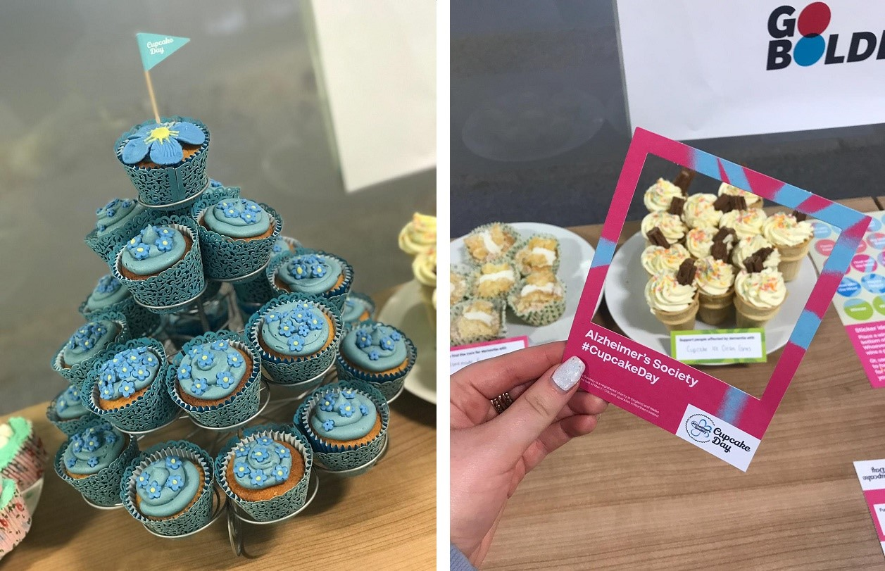 Jelf colleagues raise funds for Alzheimer's cupcake day