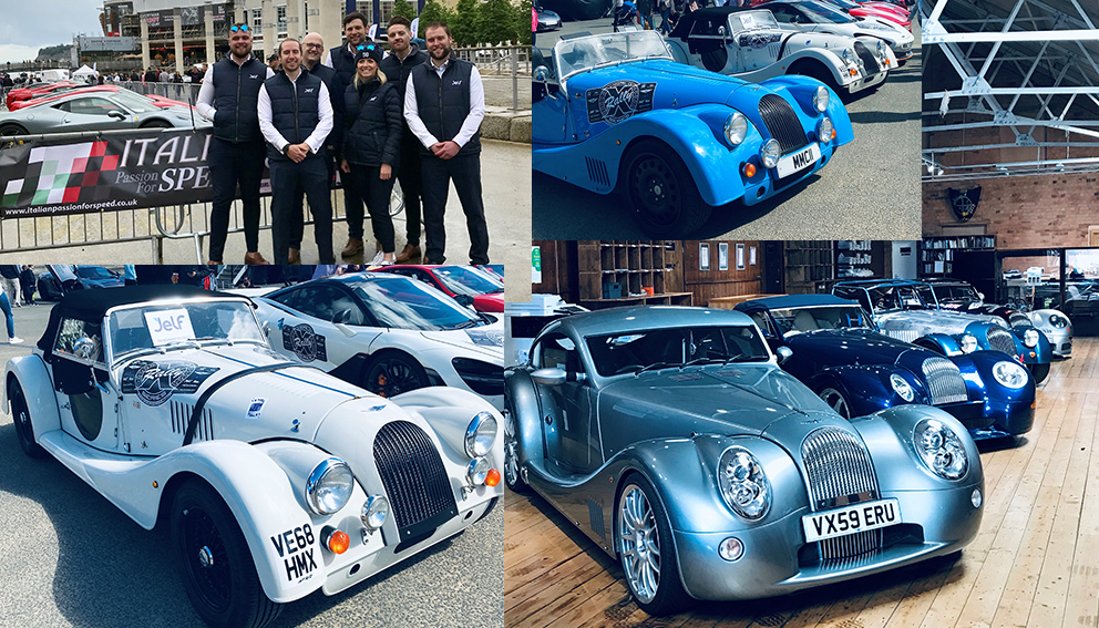 Jelf support Cardiff charity supercar events