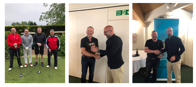 Jelf colleagues raise funds for the ICC&G Charity Golf Day