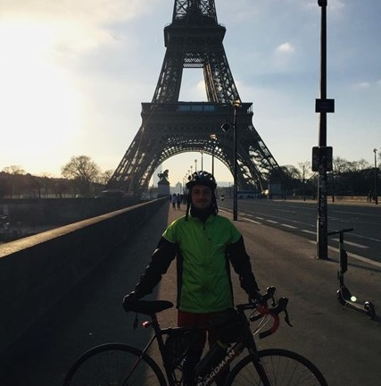 Fundraising for Mind, cycling to Paris