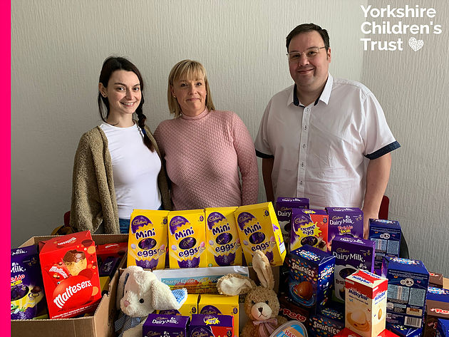 Jelf donate for Yorkshire Children's Trust