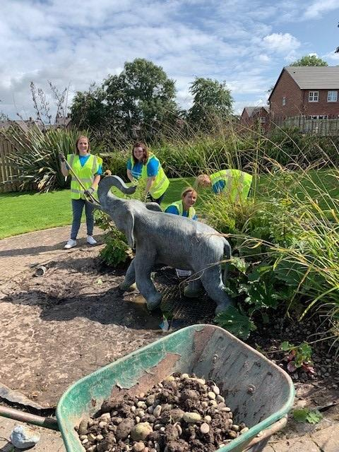 Jelf colleagues in Cumbria volunteer at the Jigsaw Children's Hospice
