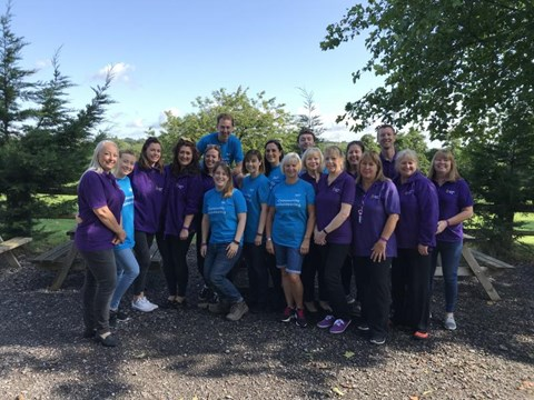 Jelf Colleagues volunteer at the Jessie May Trust family fun day
