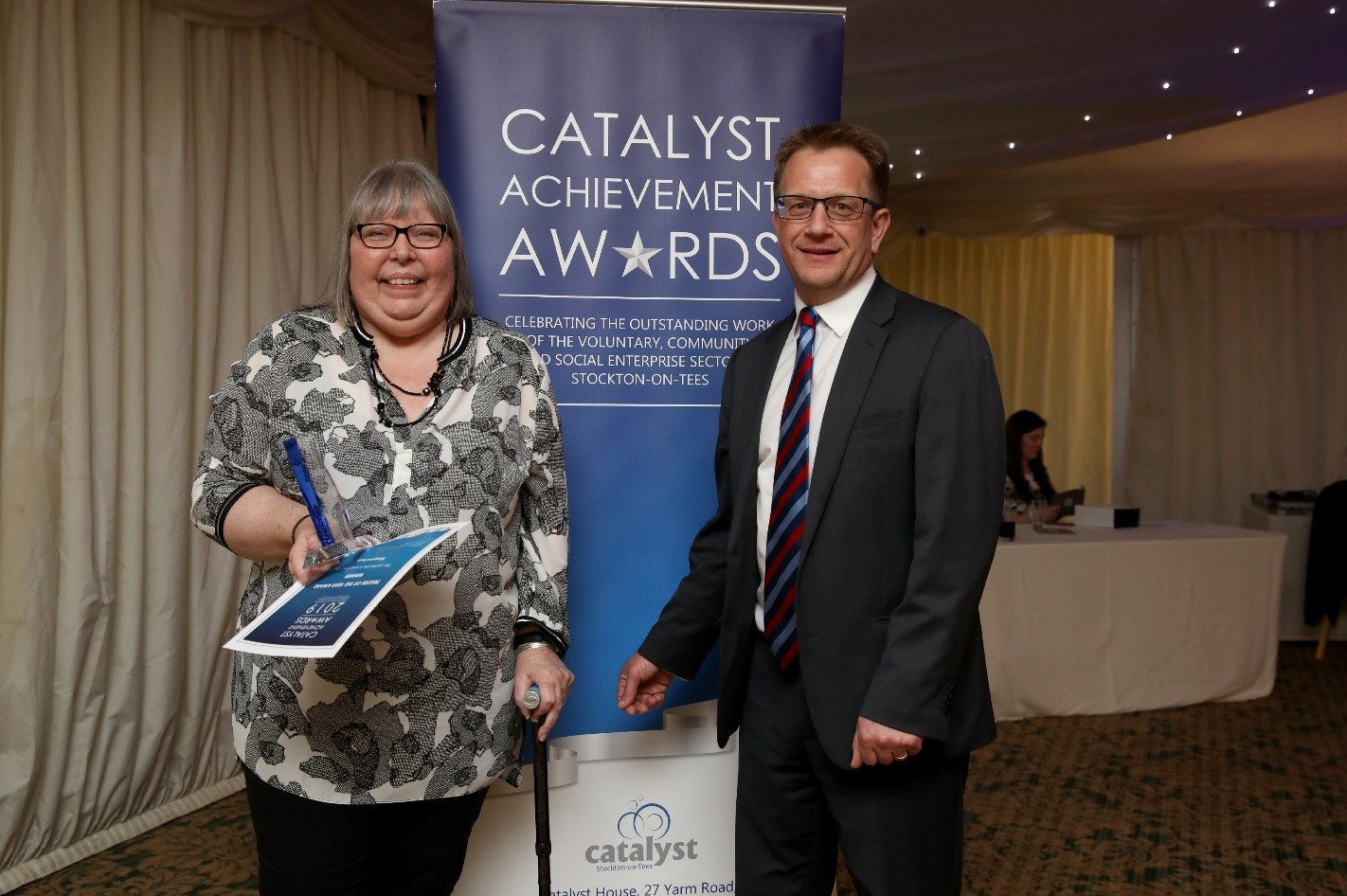 Team Stockton at the Catalyst Achievement Awards